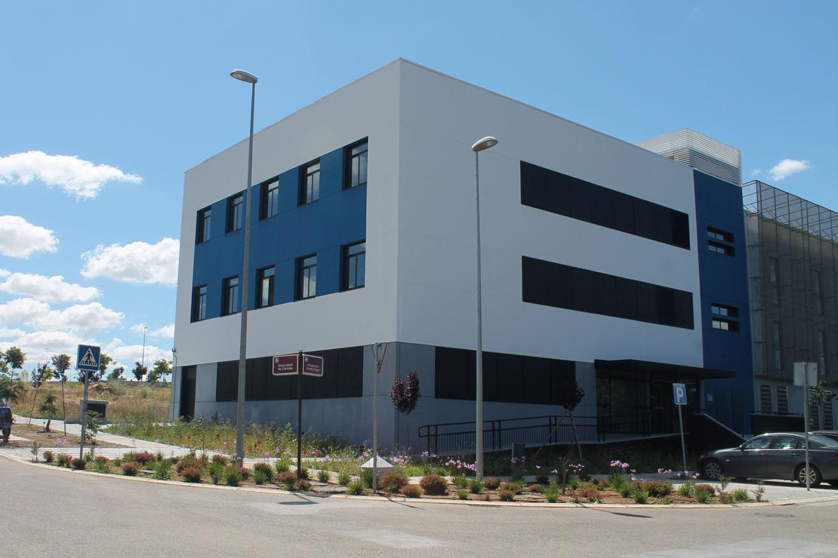 Edificio en el Parque Científico-Tecnológico, Córdoba