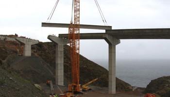 Highway A7 Carchuna-Castel de Ferro viaducts, Spain