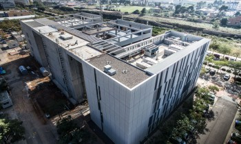 Finalizados los trabajos para la ampliación de la Facultad de Ciencias de la Salud de la Universidad Jaime I de Castellón