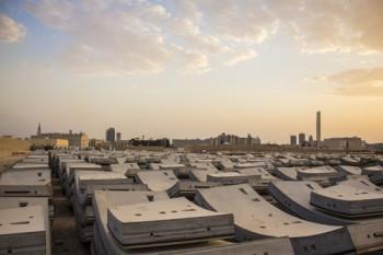 Fábrica de dovelas en Arabia Saudí