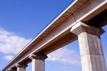 Viaductos AVE Madrid-Barcelona sobre el Rio Jarama